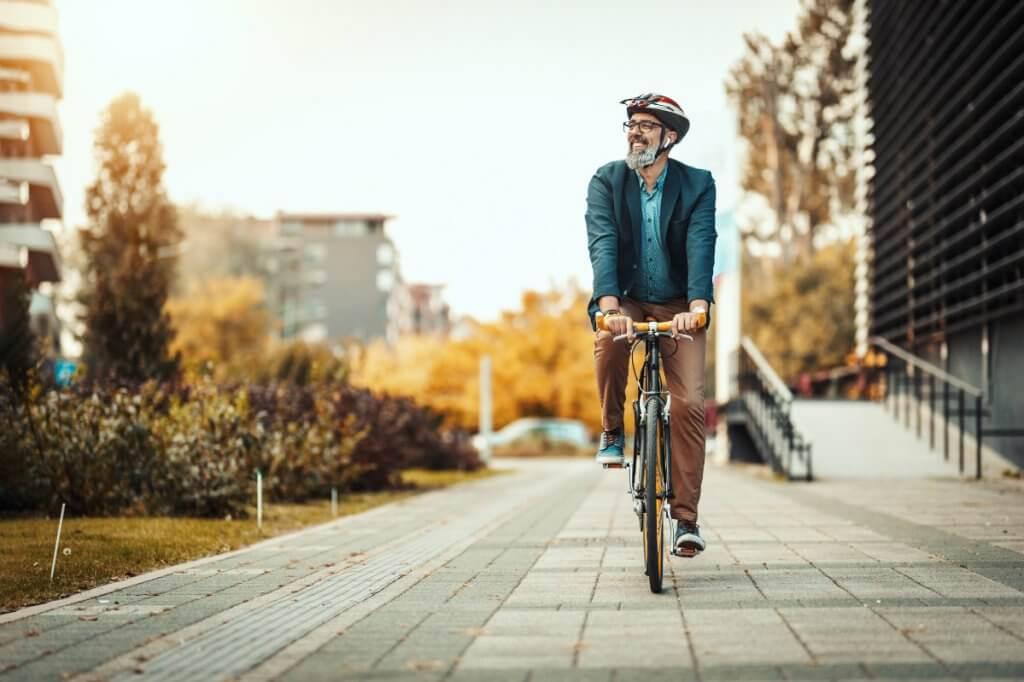 Pak de fiets of het OV